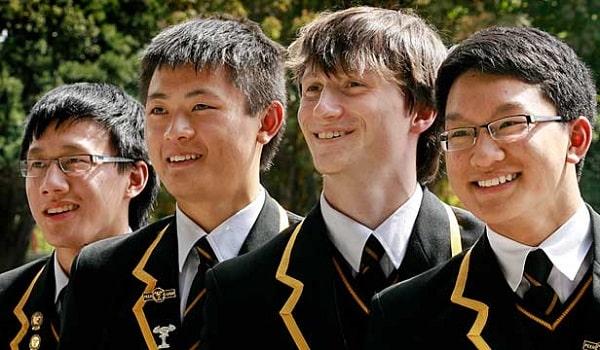 Học sinh của trường đến từ nhiều quốc gia trên thế giới