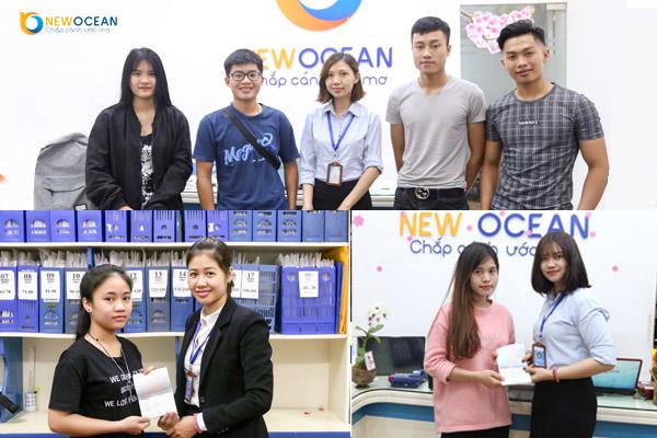 Các bạn nhận Visa du học Hàn Quốc từ New Ocean