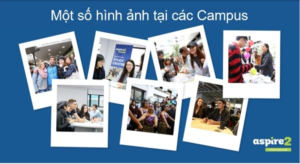 Một số hình ảnh campus của trường