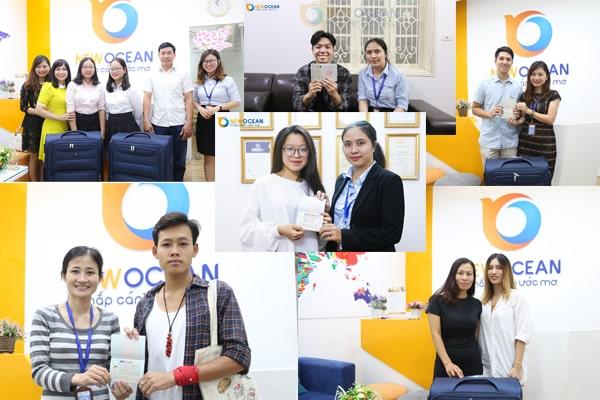 Chúc mừng các bạn đã nhận được Visa du học kì T10/2019 đợt cuối
