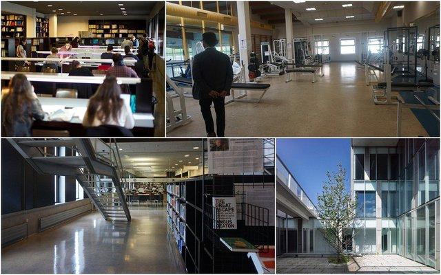 Trường đại học A Coruna với cơ sở vật chất tiện nghi