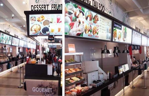 Không gian ẩm thực tuyệt vời cho sinh viên tại Cao đẳng Bách khoa Temasek