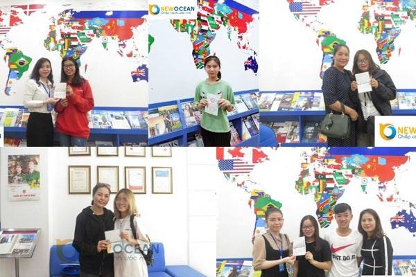 Rất nhiều bạn đã thực hiện được ước mơ du học Hàn qua New Ocean