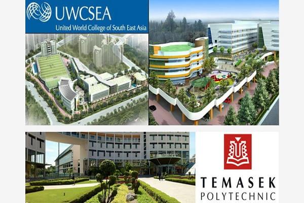 Khuôn viên Cao đẳng Bách khoa Temasek - Thành phố sinh viên thu nhỏ