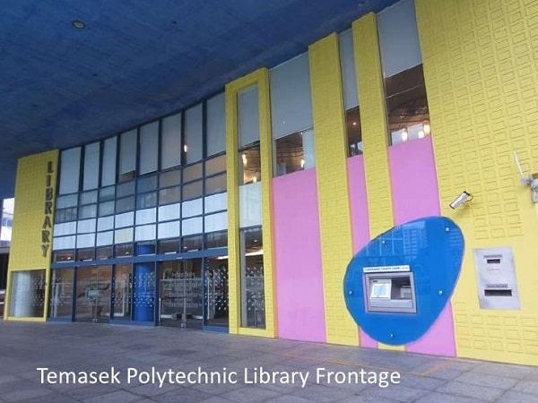 Thư viện Cao đẳng Bách khoa Temasek kiến trúc ấn tượng
