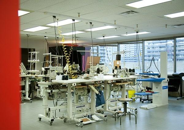 Phòng thí nghiệm may mặcTechno-Espace