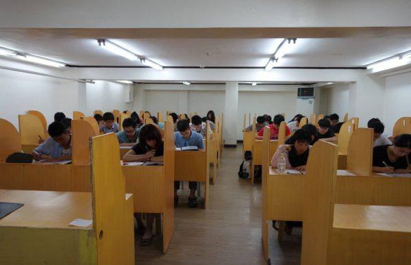 Thư viện của trường Anh ngữ CIP
