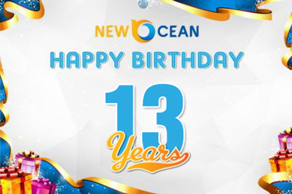 Chúc mừng New Ocean bước sang năm thứ 13