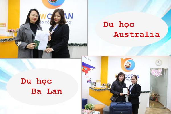 Chúc mừng Visa du học Úc và Ba Lan