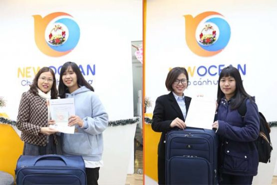 Chúc mừng 2 bạn đã nhận Visa du học Úc trường ILSC College