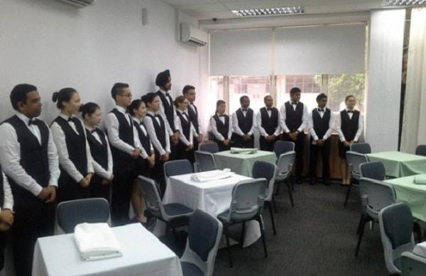 Buổi học thực hành tại Học viện SDH