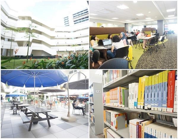 Cơ sở vật chất hiện đại của nhà trường