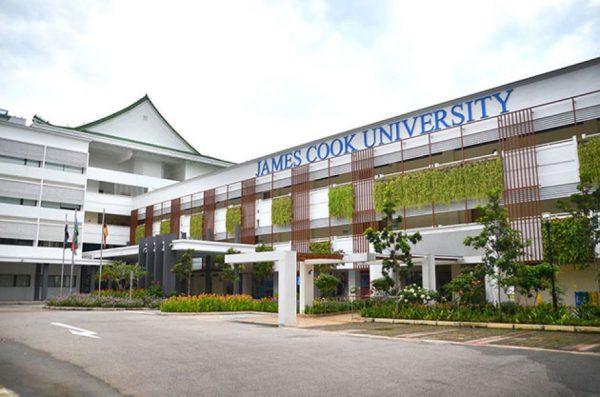 Cơ sở vật chất của trường đại học James Cook Singapore