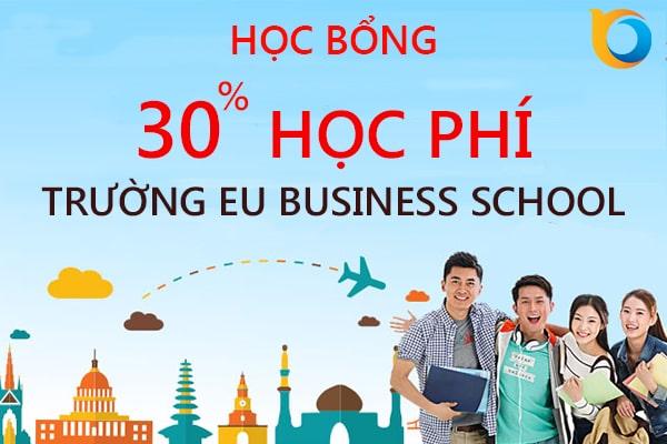Học bổng của trường EU Business School