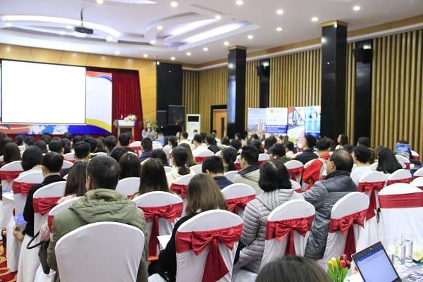 Triển lãm du học quốc tế 2019 thu hút nhiều quý phụ huynh và các bạn học sinh tham dự