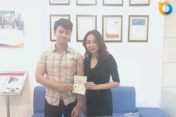 Chúc mừng Nam Phong đã nhận được Visa du học Singapore