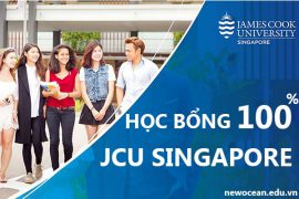 Học bổng trường James Cook Singapore
