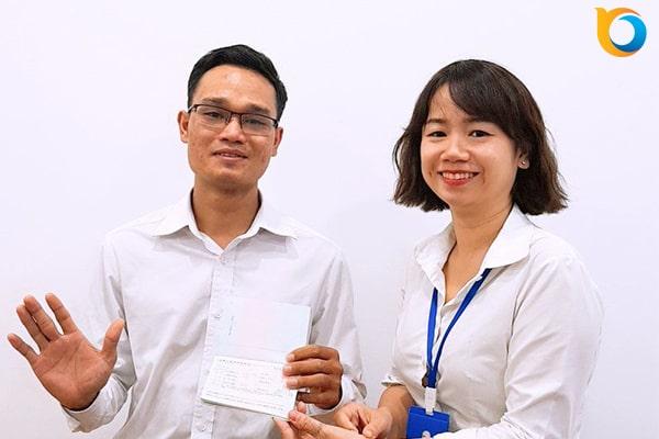 Visa du học Trung Quốc Bùi Vũ Ân