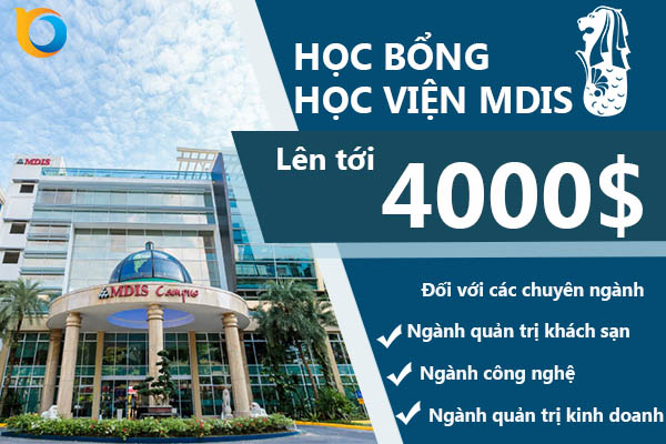 Học bổng học viện MDIS Singapore