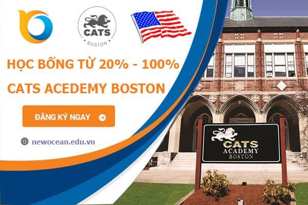 Học bổng trường CATS Academy Boston