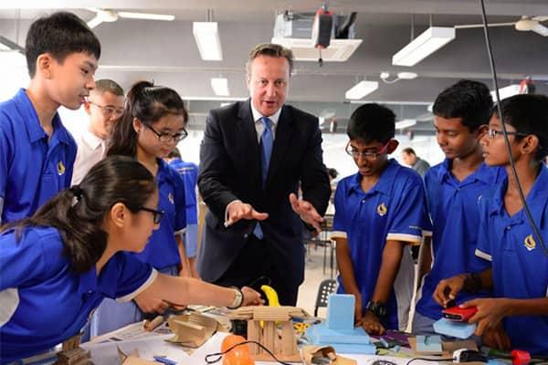 Các bạn học sinh sẽ học tập tại hai môi trường có chất lượng giáo dục hàng đầu thế giới