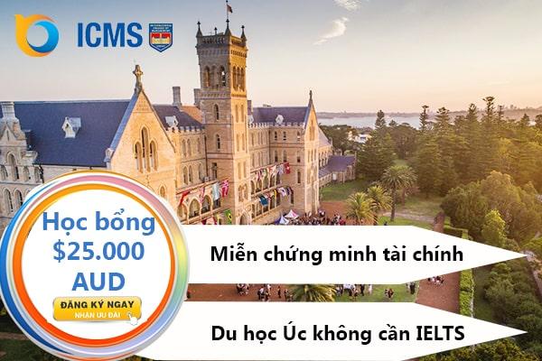 Học bổng du học Úc trường ICMS