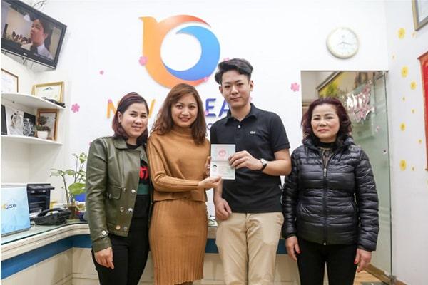 Bạn Nguyễn Phùng Hưng nhận Visa du học từ New Ocean