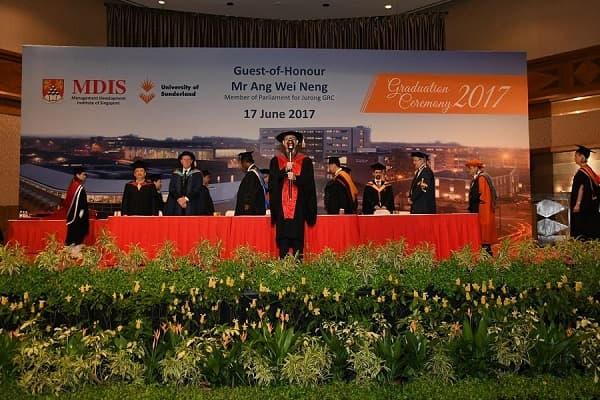 MDIS là đổi tác thân thiết của Đại học Sunderland, Anh Quốc