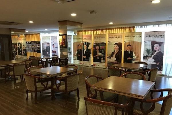 Trung tâm Tropical Breeze hiện đại dành riêng cho khoa Quản trị du lịch khách sạn;