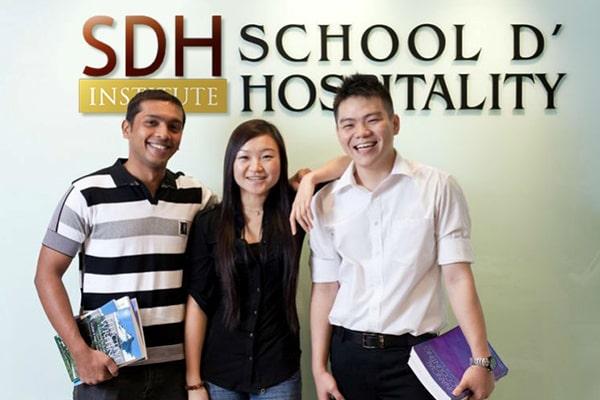 Học viện SDH là một trong những trường tốt tại Singapore