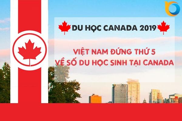 Việt Nam đứng ở vị trí số 5 về số lượng du học sinh tại Canada