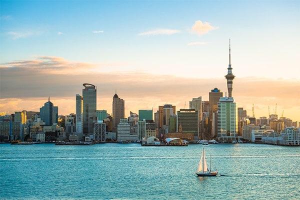New Zealand - Một trong những thành phố bình yên nhất