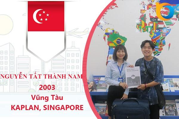 Nguyễn Tất Thành Nam nhận Visa du học từ New Ocean