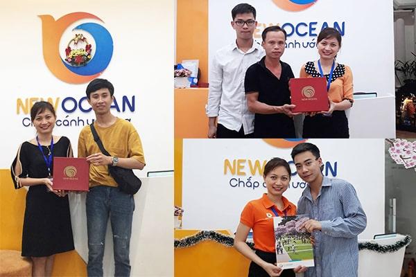 Nhiều bạn du học sinh đã có thời gian thăm về quê hương nhưng vẫn không quên đến với New Ocean