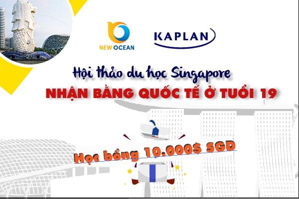 Hội thảo du học Singapore cùng Học viện Kaplan