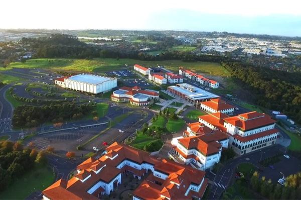 Trường Đại học Massey nhìn từ trên cao