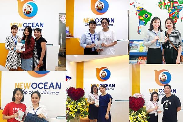 Chúc mừng Visa du học các bạn du học sinh của New Ocean