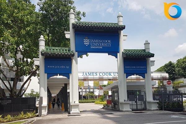 Học bổng 100% học phí trường James Cook Singapore