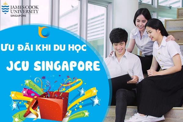 Du học trường James Cook Singapore với nhiều ưu đãi hấp dẫn