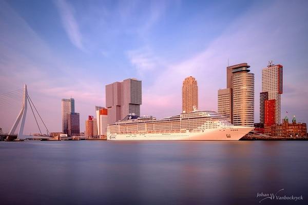 Thành phố Rotterdam được mệnh danh là thành phố tương lai