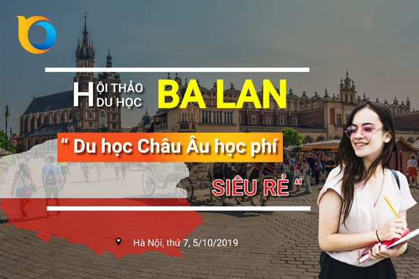 Hội thảo du học Ba Lan 2019 tại Hà Nội