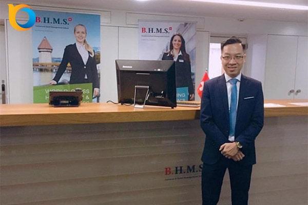 Đại diện New Ocean thăm trường BHMS – Thụy Sĩ