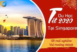 Du học Tết Singapore Lion Island 2020