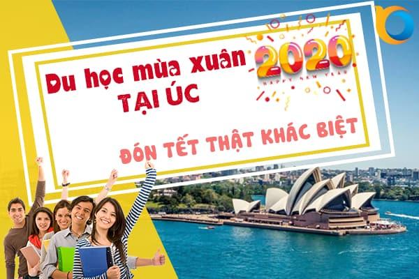 Chương trình du học mùa xuân tại Úc 2020