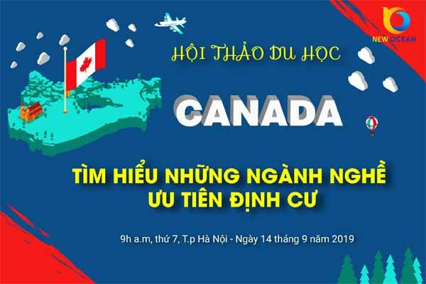 Hội thảo du học Canada 2019 tại Hà Nội