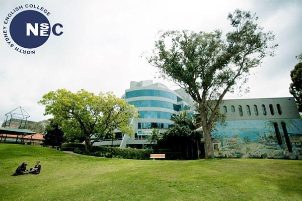 Khuôn viên bên ngoài của trường North Sydney English College
