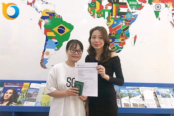 Visa du học Úc Phan Thị Phương Trinh