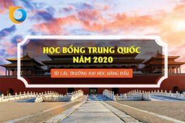 Học bổng Trung Quốc năm 2020