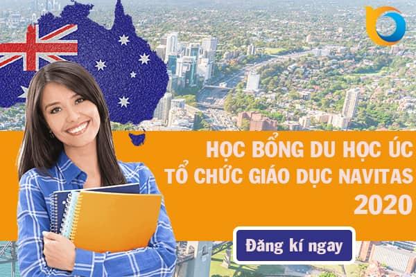 Học bổng du học Úc tổ chức giáo dục Navitas