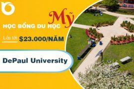 Học bổng du học trường Depaul University